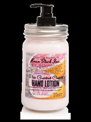 Bean'Stock Hand Lotion | Pink Grapefruit Chutney