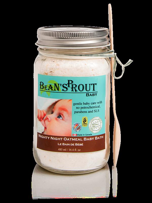 Bean'Sprout Nighty Night Oatmeal Baby Bath Soak