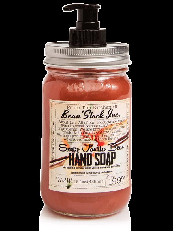 Bean'Stock Hand Soap | Exotic Vanilla Bean