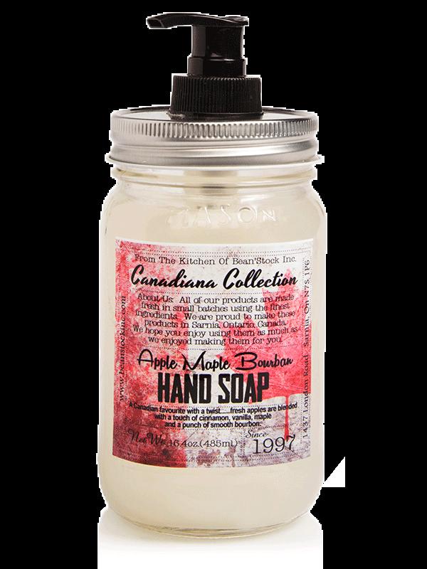 Bean'Stock Hand Soap   Apple Maple Bourbon