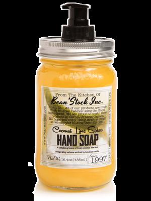 Bean'Stock Hand Soap | Coconut Lime Salsa