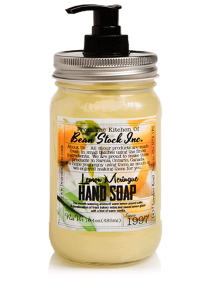 Bean'Stock Hand Soap | Lemon Meringue