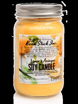 Bean'Stock Soy Candle | Lemon Meringue