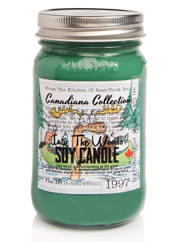 Bean'Stock Soy Candle | Into The Woods