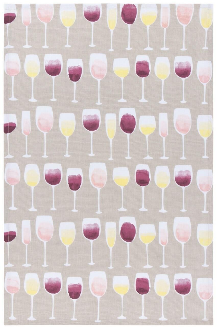 Now Designs Teatowel | Wine Tasting
