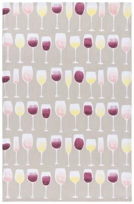 Now Designs Teatowel   Wine Tasting