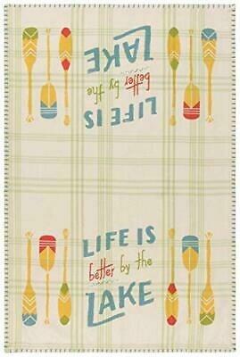 Now Designs Woven Dishtowel | Lake Life