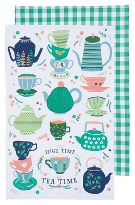 Now Designs Set Of 2 Teatowels | Perfect Cuppa