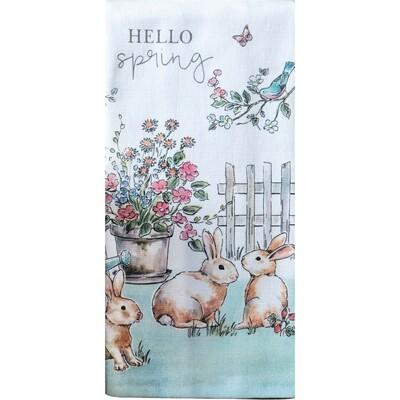 Kay Dee Designs Duel Purpose Terry Towel | Hello Spring