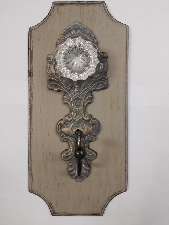 Wood, Metal, Acrylic Hook
