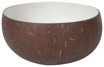 Danica Coconut Bowl | White