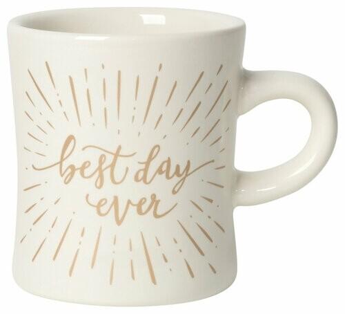 Now Designs Diner Mug   Best Day Ever