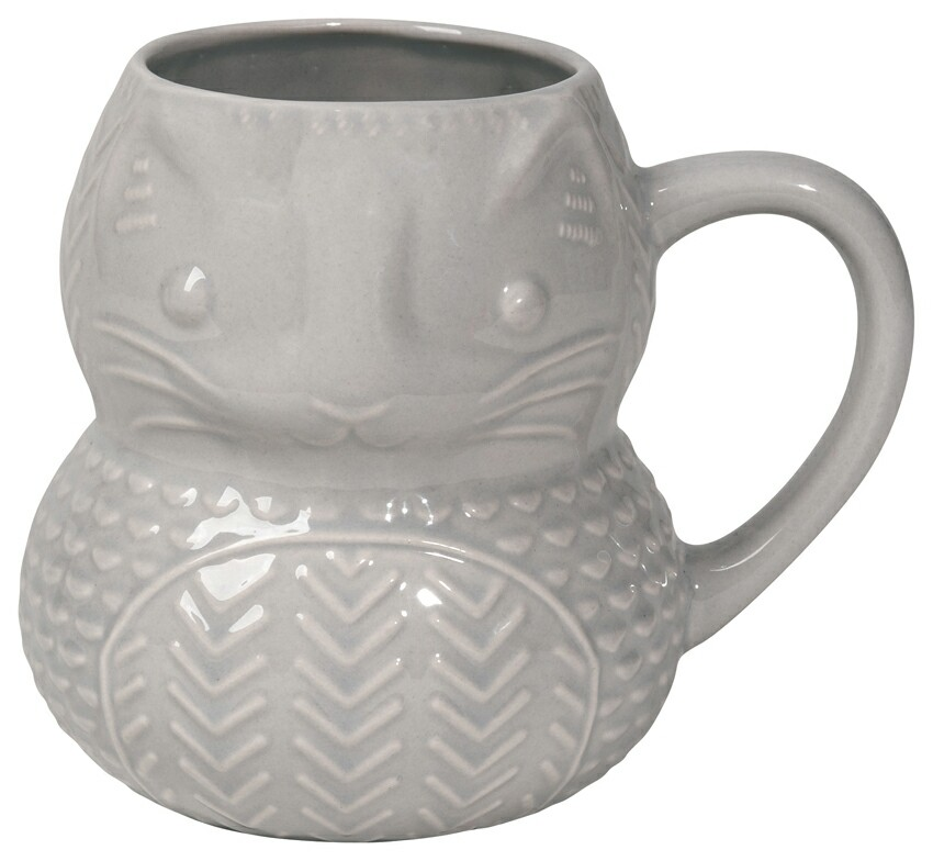 Now Designs Critter Mug | Calvin Cat