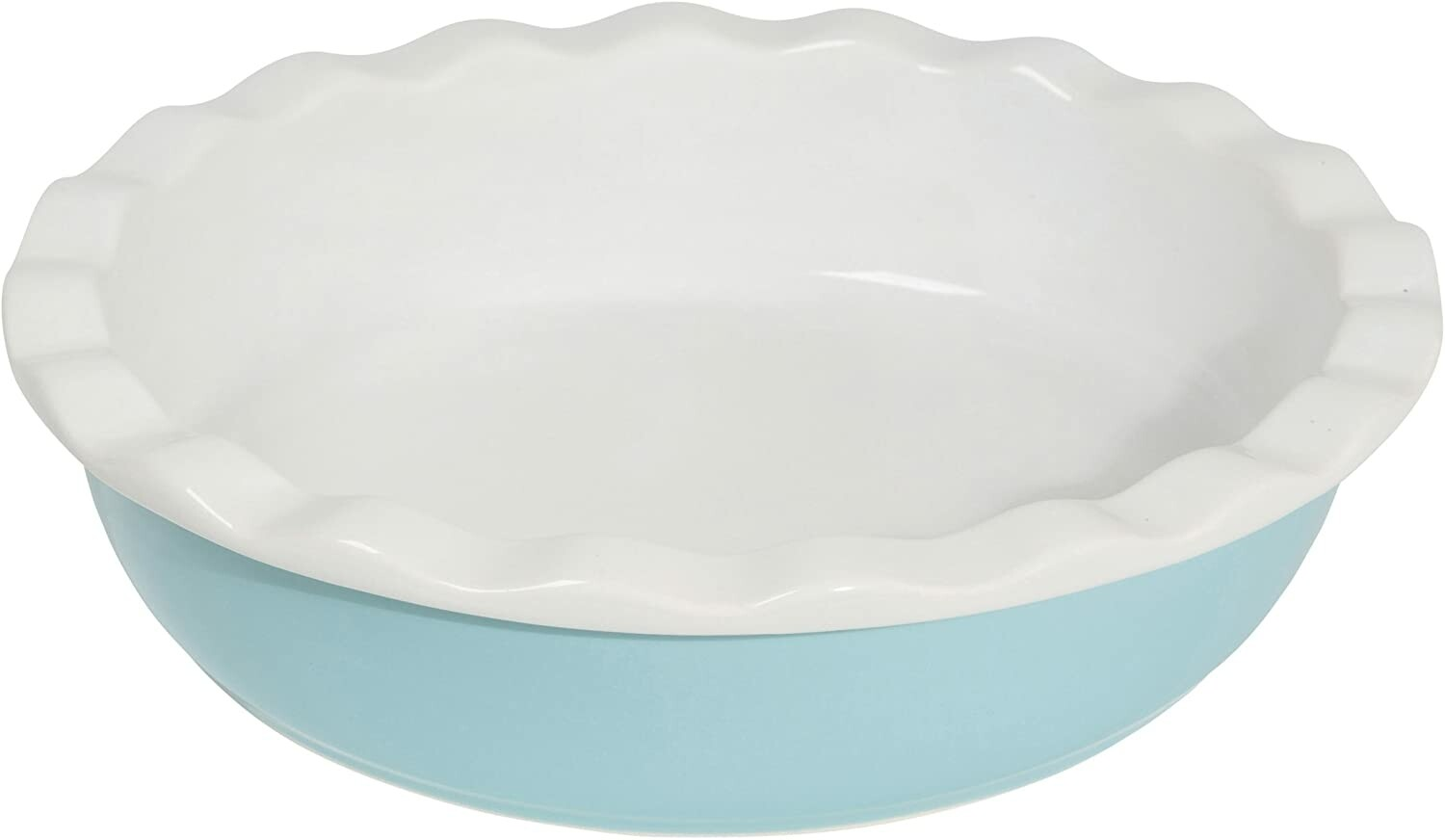 Now Designs Pie Plate   Turquoise