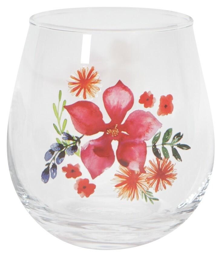 Now Designs Stemless Wine Glass | Botanica