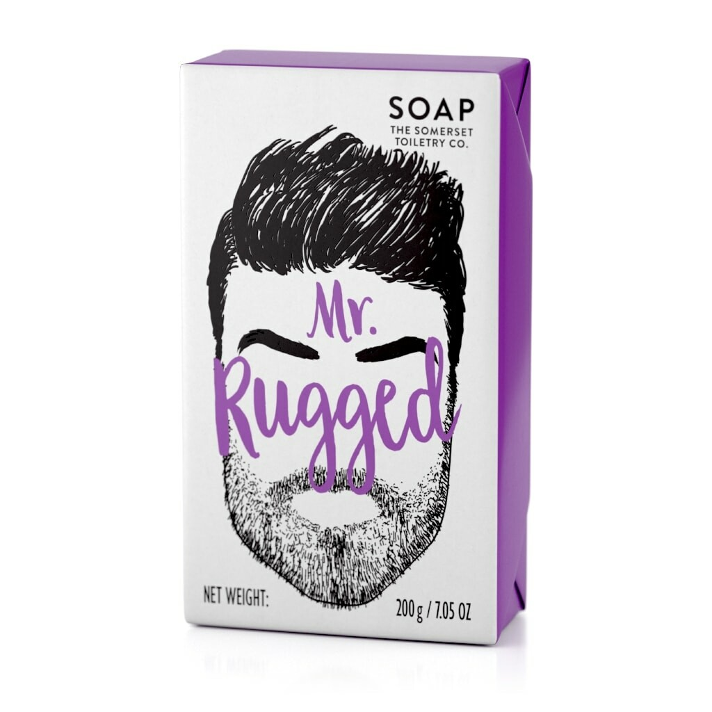 The Somerset Toiletry Co | Mr Rugged Bar Soap