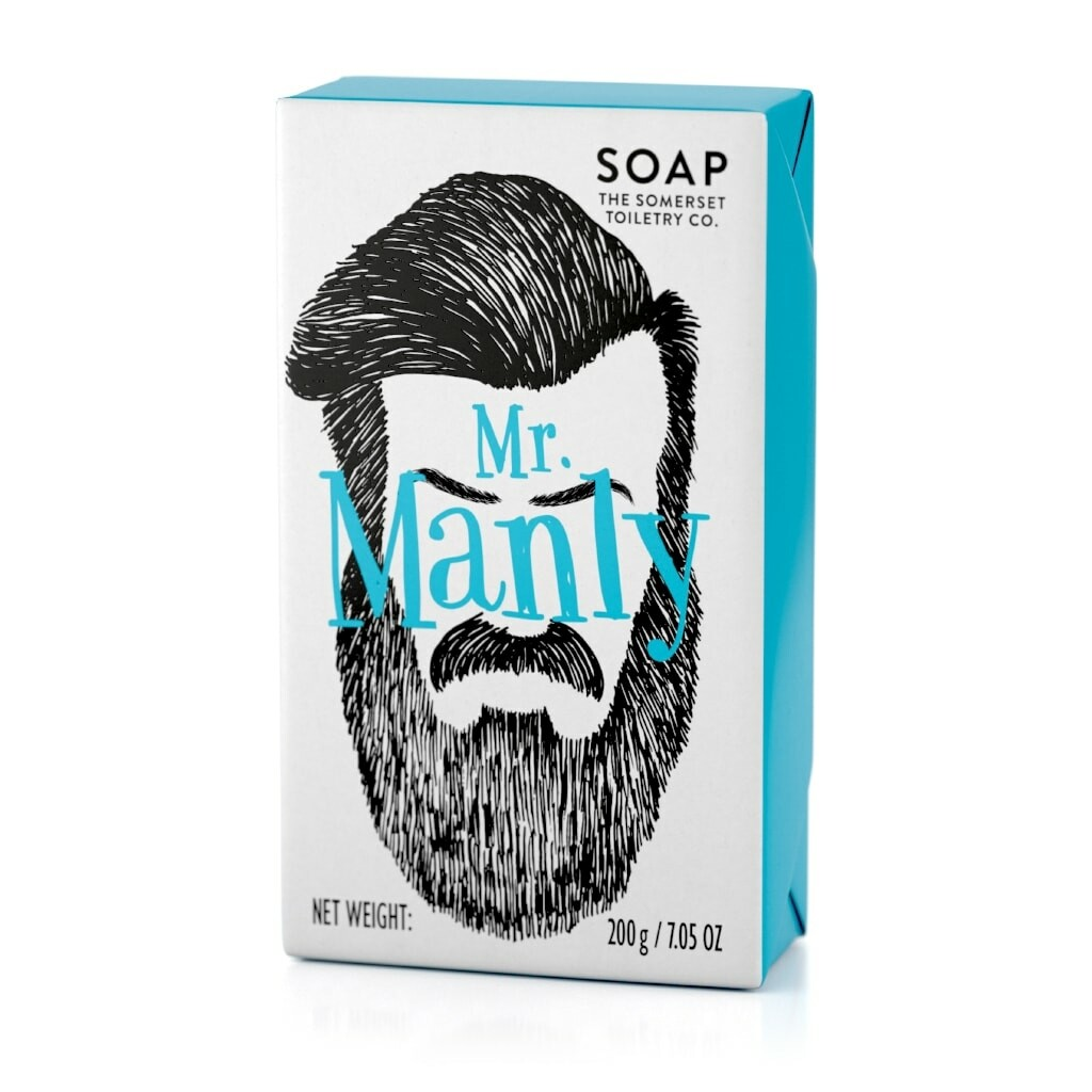 The Somerset Toiletry Co | Mr Manly Bar Soap
