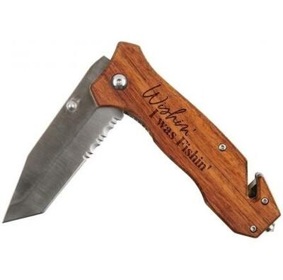 PG Dunn Pocket Knife | Wishin' I Was Fishin'
