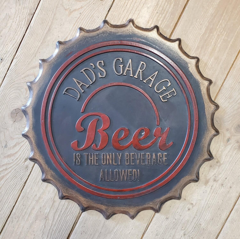 Rubber Beer Cap Mat