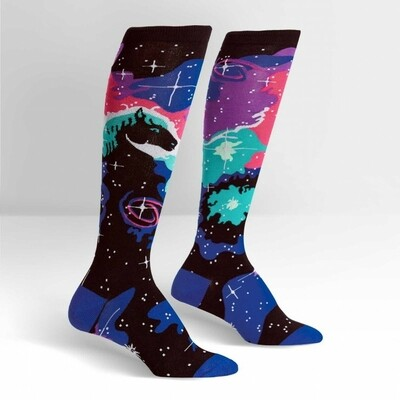 Sock It To Me - Women's Knee-high Socks | Horsehead Nebula