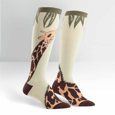 Sock It To Me - Women's Knee-high Socks | Giraffe