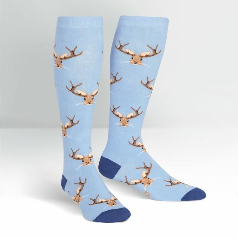 Sock It To Me - Women's STRETCH-IT Wide Calf Knee-high Socks | Jackalope