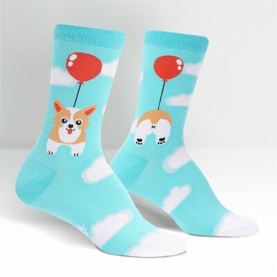 Sock It To Me - Women's Crew Socks | Pup, Pup, and Away