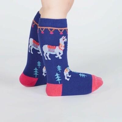 Sock It To Me - Toddler Knee-high Socks   ¿Cómo Te Llamas?