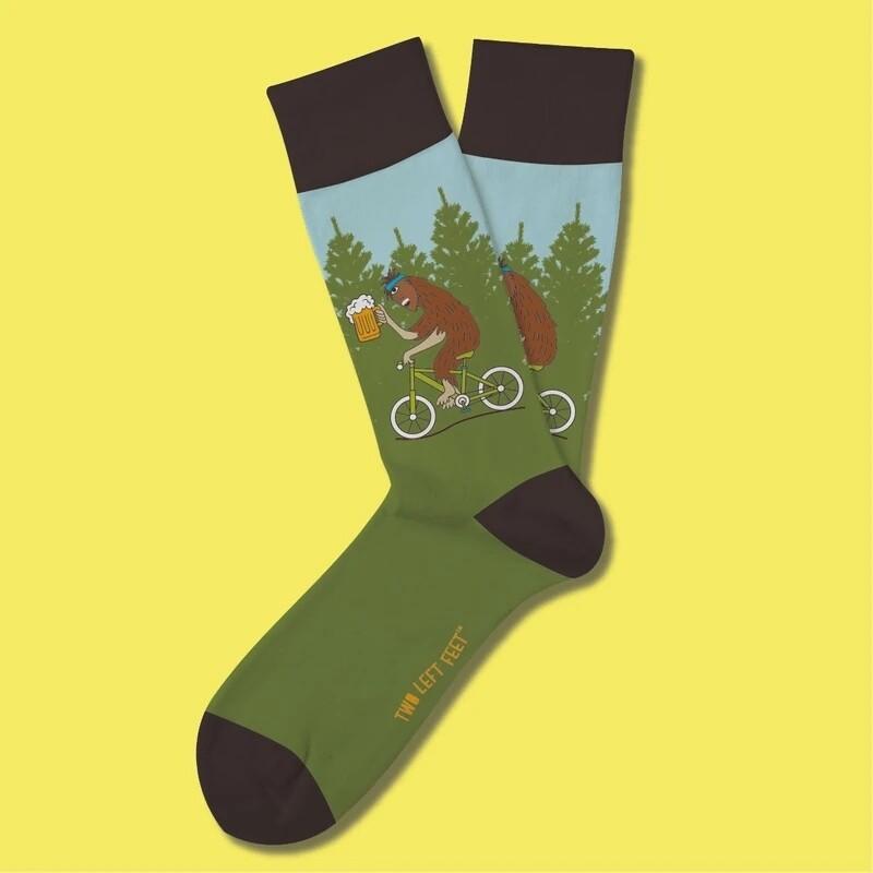 Two Left Feet - Everyday Socks (Small Feet)   Drinkin' With Sasquatch