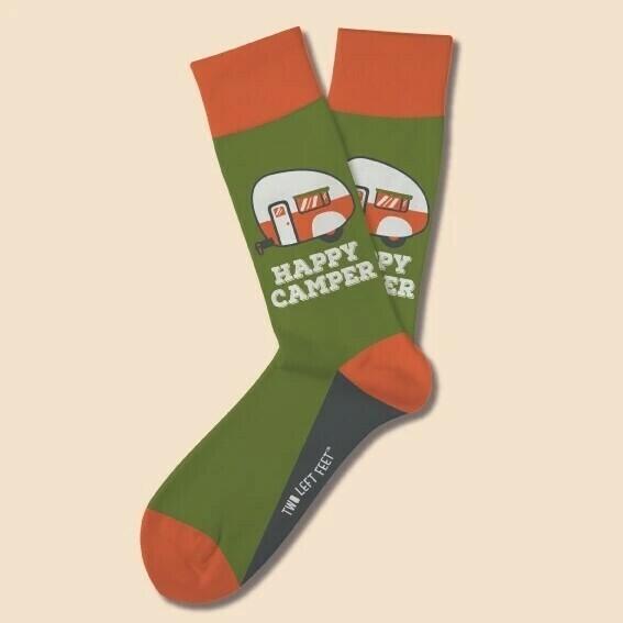 Two Left Feet - Everyday Socks (Big Feet) | Happy Camper