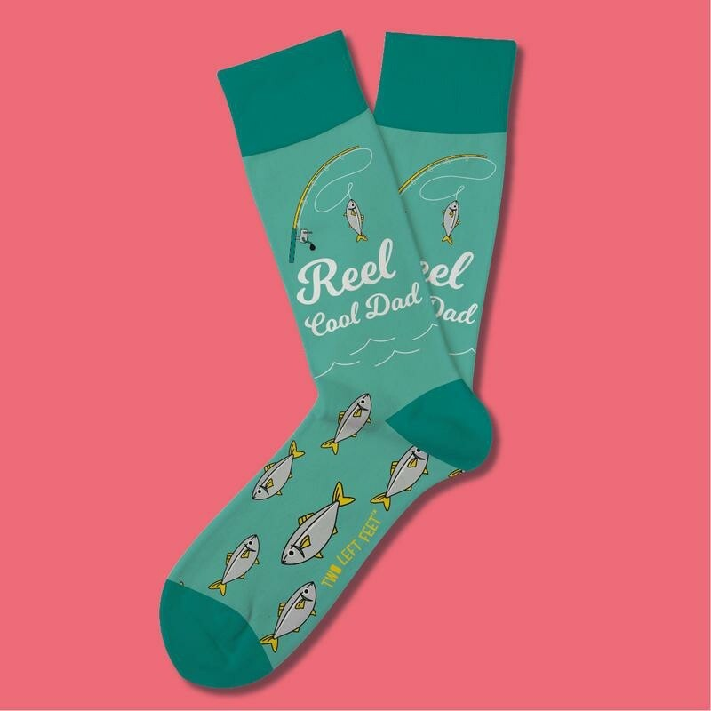 Two Left Feet - Everyday Socks (Big Feet) | Reel Cool Dad