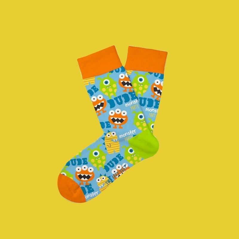 Two Left Feet - Everyday Socks (Small Feet) | Monster Mash