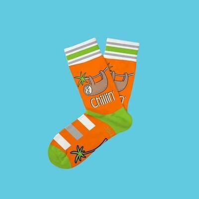 Two Left Feet - Everyday Socks (Big Feet)   Just Chillin'