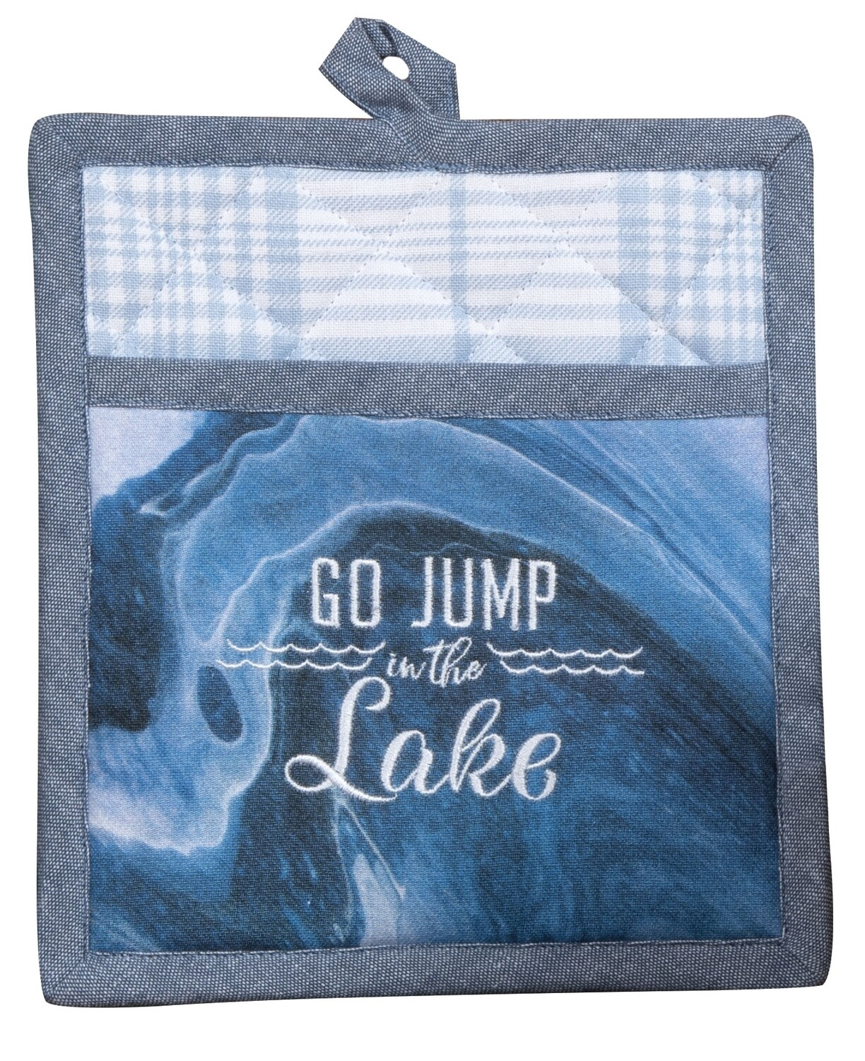Tranquility Lake Pocket Mitt | Go Jump in the Lake