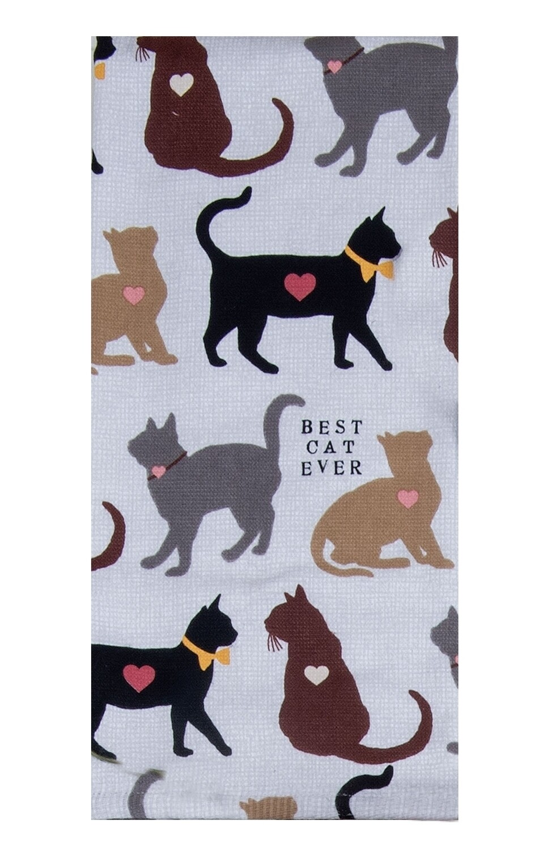 Kay Dee Designs Duel Purpose Terry Towel | Best Cat Ever