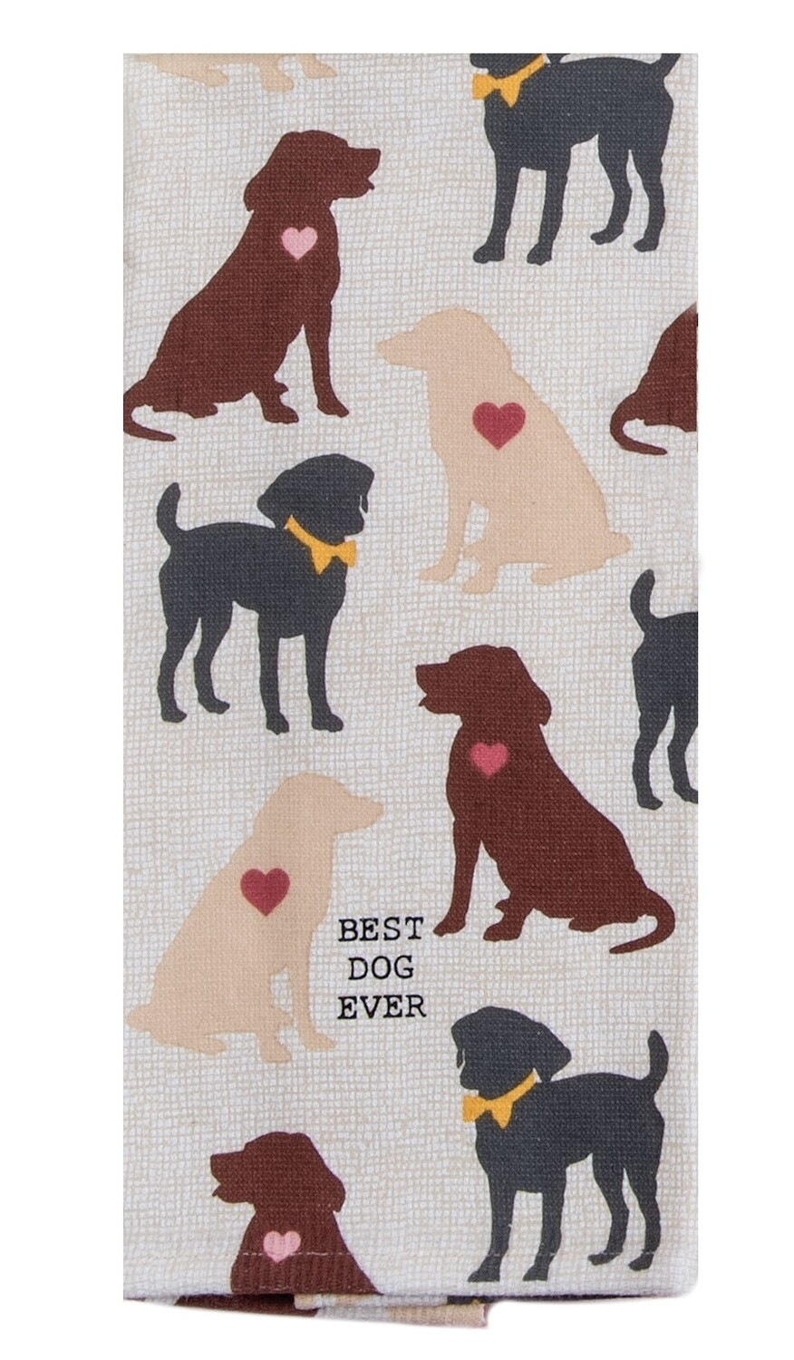 Kay Dee Designs Duel Purpose Terry Towel | Best Dog Ever