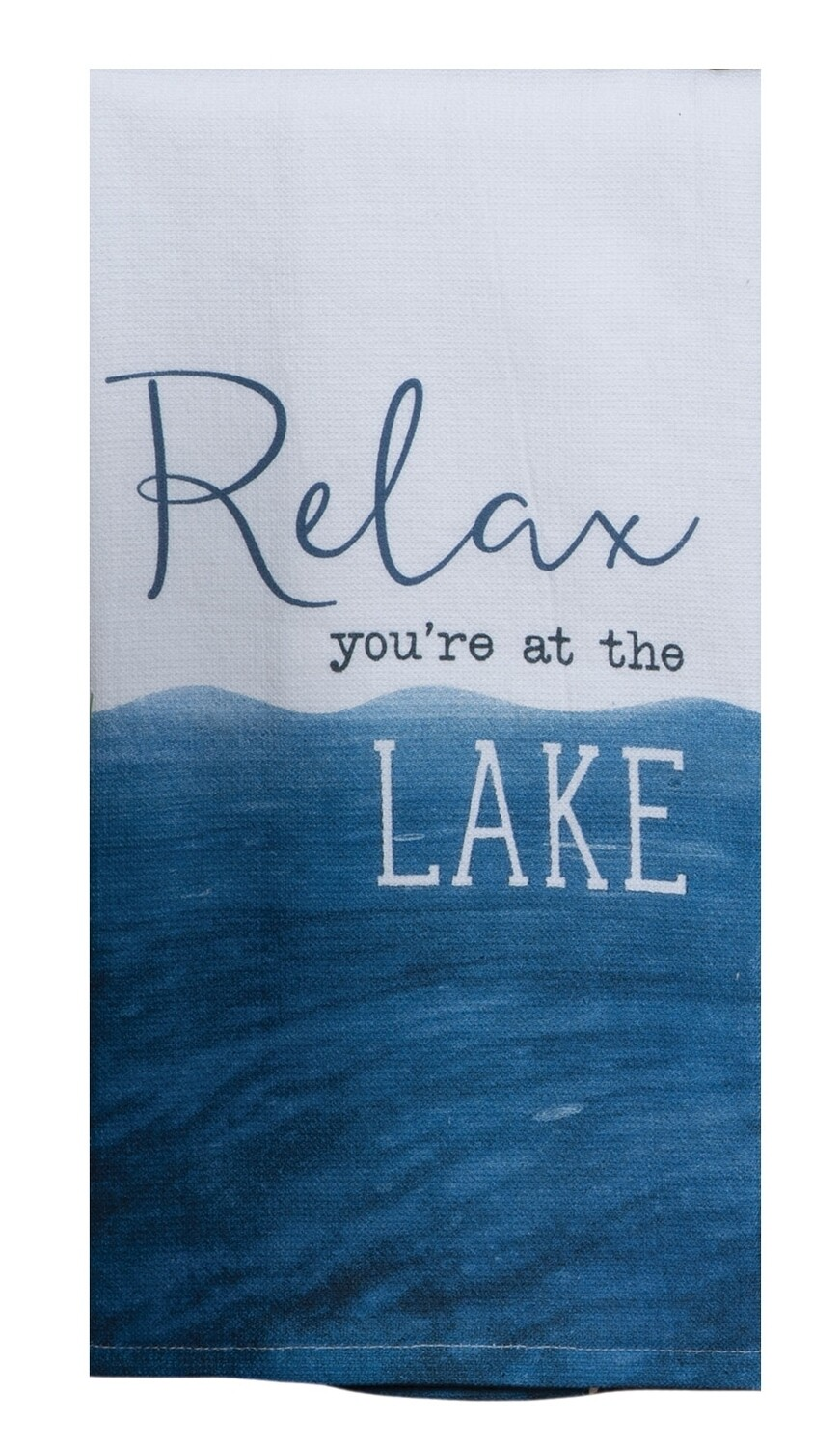 Kay Dee Designs Tranquility Lake Terry Towel | Relax you're at the Lake