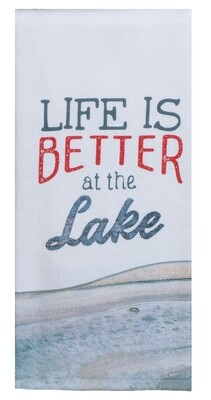 Kay Dee Designs Tranquility Lake Terry Towel | Life is Better at the Lake