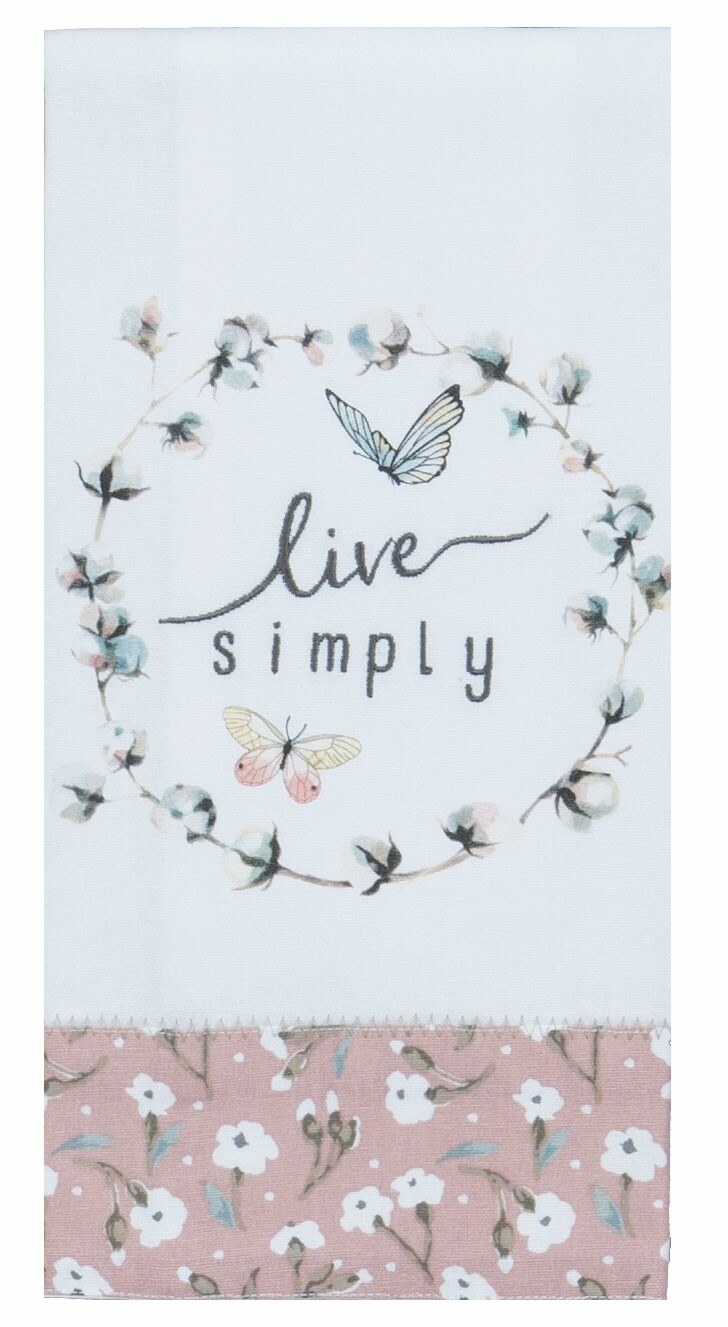 Kay Dee Designs Tea Towel | Blush Live Simply