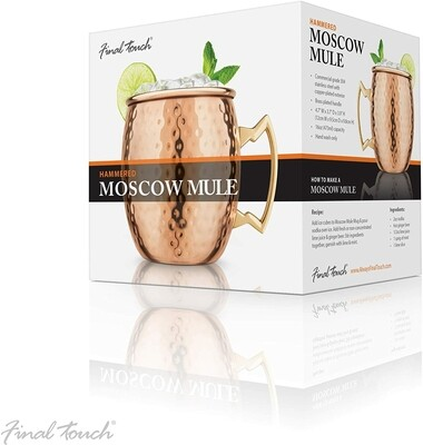 Final Touch | Copper Hammered Moscow Mule