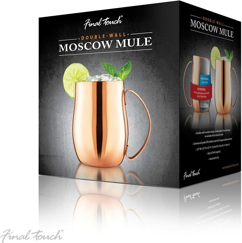 Final Touch | Copper Double-Wall Moscow Mule