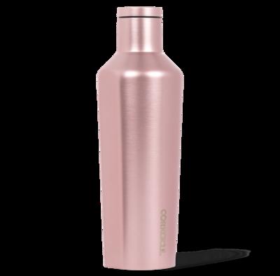 Corkcicle Canteen   16oz Metallic Pink