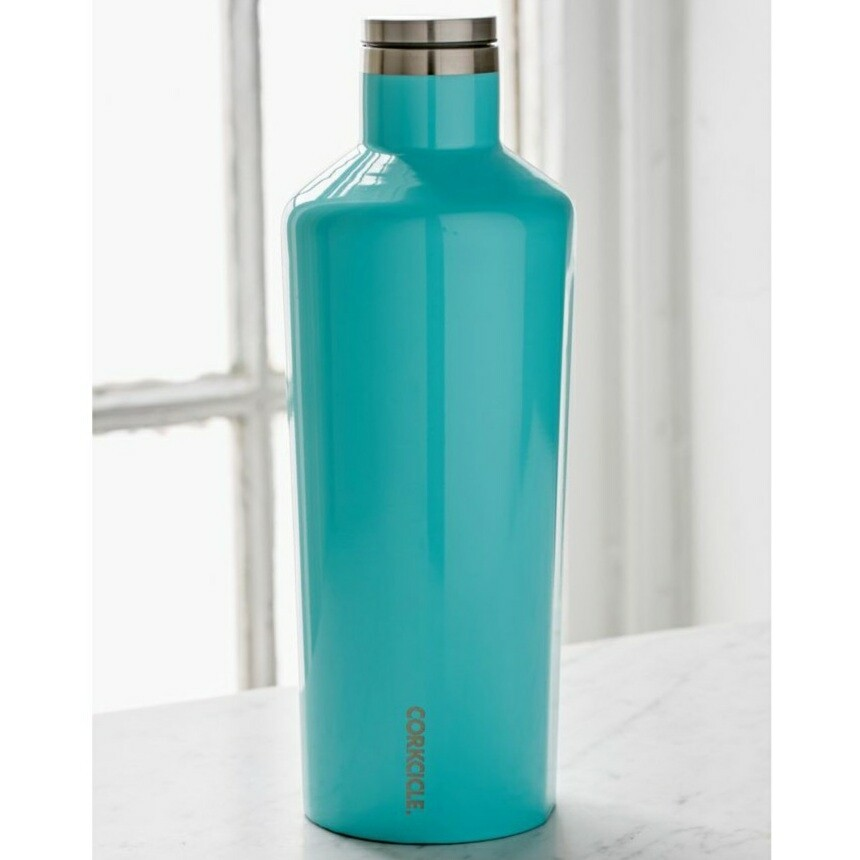 Corkcicle Classic Canteen | 60oz Gloss Turquoise