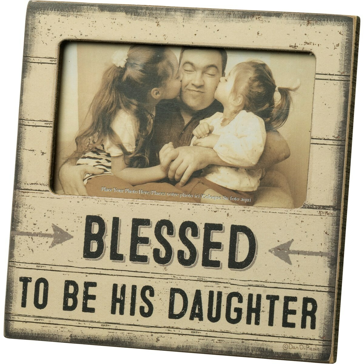 Blessed to be His Daughter Frame