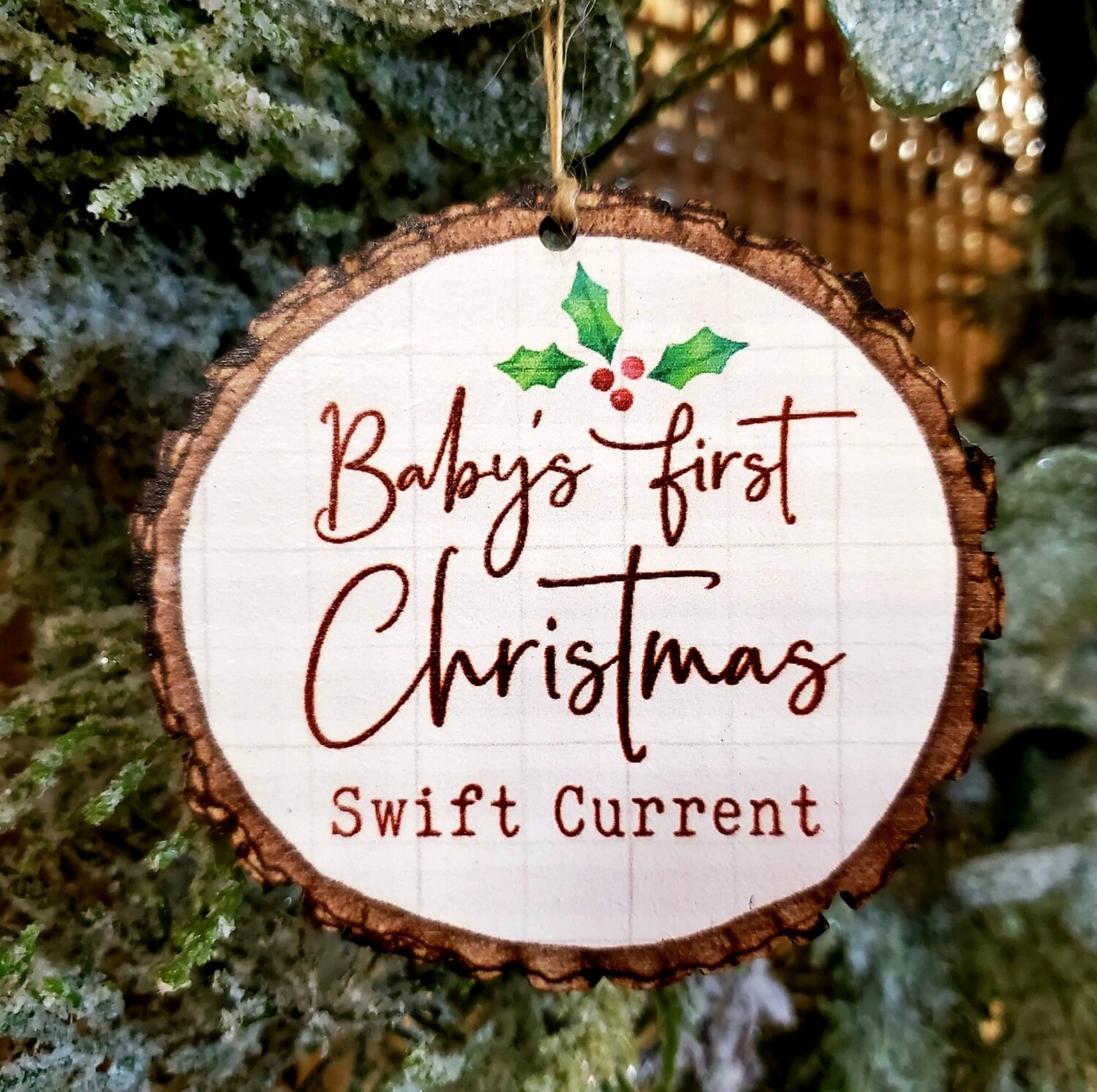 Baby First Christmas - Swift Current Ornament