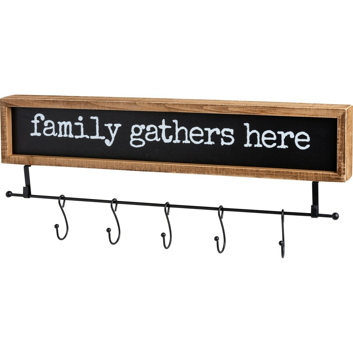 Hook Board - Family Gathers Here