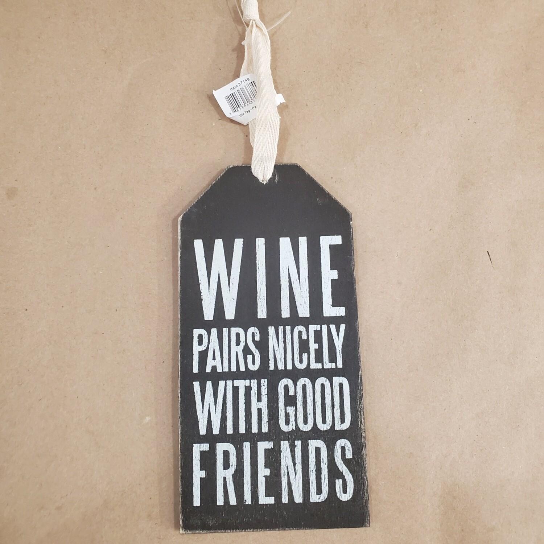 Wine Tag - Wine Pairs Nicely