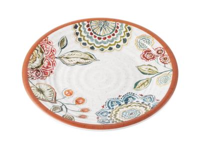 """8.5"""" Melamine Plate - Mandala"""