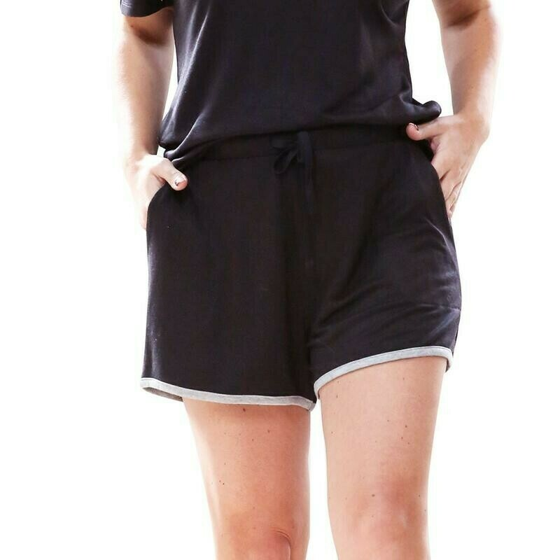 Hello Mello Weekender Shorts | Black