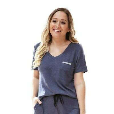 Hello Mello Weekender Short Sleeve Tee | Navy